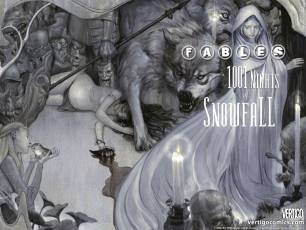 Couverture de l'album FABLES (VO) Tome #HS 1001 Nights of Snowfall