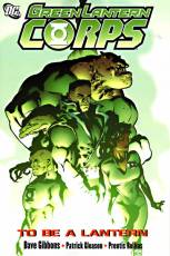 Couverture de l'album GREEN LANTERN CORPS Tome #1 To be a lantern