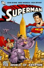 Couverture de l'album SUPERMAN The world of Krypton