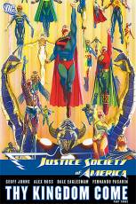 Couverture de l'album JUSTICE SOCIETY OF AMERICA Tome #4 Thy Kingdom Come 3