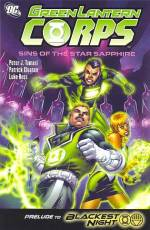 Couverture de l'album GREEN LANTERN CORPS Tome #4 Sins of the Star Sapphire