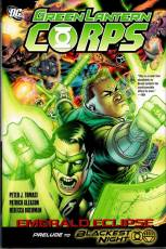 Couverture de l'album GREEN LANTERN CORPS Tome #5 Emerald Eclipse