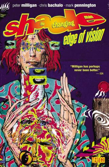 Couverture de l'album SHADE, THE CHANGING MAN Tome #2 Edge of vision