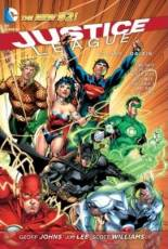 Couverture de l'album JUSTICE LEAGUE Tome #1 Origin