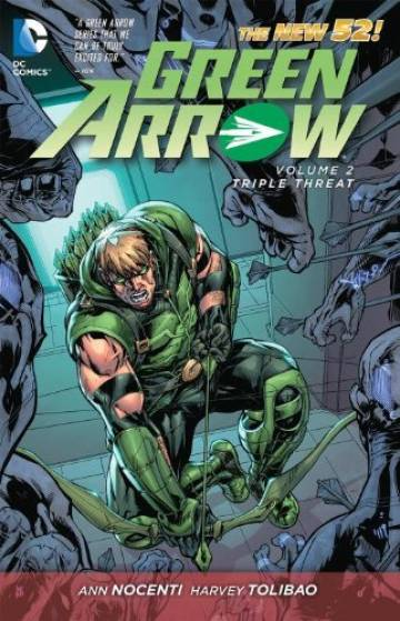 Couverture de l'album VO GREEN ARROW (NEW 52) Tome #2 Triple threat