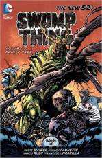 Couverture de l'album SWAMP THING (THE NEW 52) Tome #2 Family tree