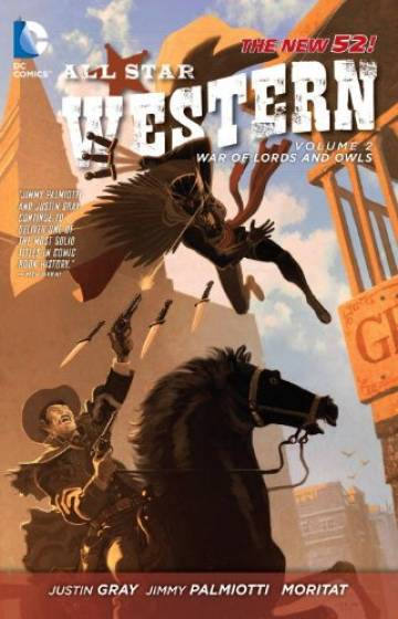 Couverture de l'album ALL STAR WESTERN Tome #2 War of Lords and Owls