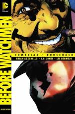 Couverture de l'album BEFORE WATCHMEN: COMEDIAN/RORSCHACH Deluxe Edition
