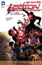 Couverture de l'album LEGION OF SUPER-HEROES (NEW 52) (VO) Tome #2 The dominators