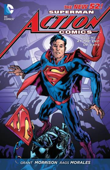 Couverture de l'album ACTION COMICS Tome #3 At the end of days