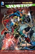 Couverture de l'album JUSTICE LEAGUE Tome #3 Throne of Atlantis