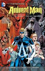 Couverture de l'album ANIMAL MAN Tome #3 Rotworld  : The Red Kingdom