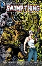 Couverture de l'album SWAMP THING (THE NEW 52) Tome #3 Rotworld  : The Green Kingdom