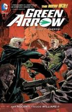 Couverture de l'album GREEN ARROW (NEW 52) (VO) Tome #3 Harrow