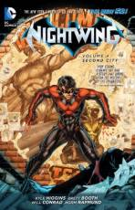Couverture de l'album NIGHTWING Tome #4 Second City