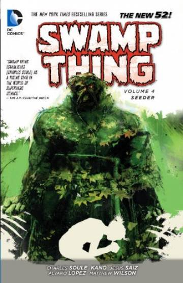Couverture de l'album SWAMP THING (THE NEW 52) Tome #4 Seeder
