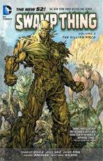 Couverture de l'album SWAMP THING (THE NEW 52) Tome #5 The Killing Field