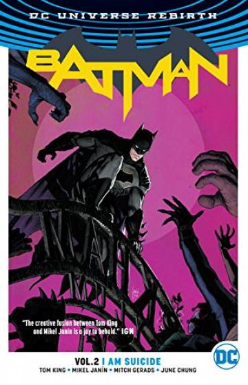 Couverture de l'album  BATMAN Tome #2 I am Suicide