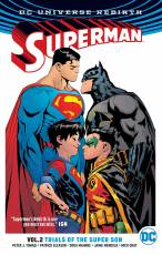 Couverture de l'album SUPERMAN (DC UNIVERSE REBIRTH) Tome #2 Trials of the Super Son