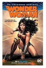 Couverture de l'album WONDER WOMAN (DC UNIVERSE REBIRTH) Tome #3 The Truth