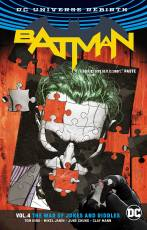 Couverture de l'album  BATMAN Tome #4 The War of Jokes and Riddles