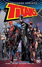 Couverture de l'album TITANS  (DC UNIVERSE REBIRTH) Tome #2 Made in Manhattan