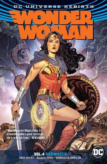 Couverture de l'album WONDER WOMAN (DC UNIVERSE REBIRTH) Tome #4 Godwatch