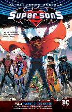 Couverture de l'album SUPER SONS (DC UNIVERSE REBIRTH) Tome #2 Planet of the Capes