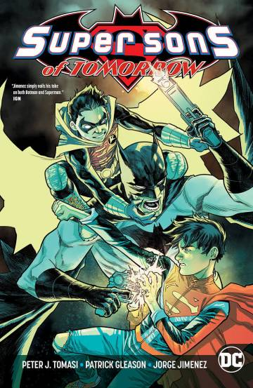 Couverture de l'album SUPER SONS OF TOMORROW Super Sons of Tomorrow