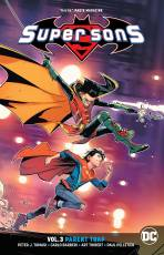 Couverture de l'album SUPER SONS (DC UNIVERSE REBIRTH) Tome #3 Parent Trap