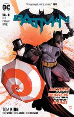 Couverture de l'album  BATMAN Tome #9 The Tyrant Wing
