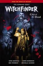 Couverture de l'album WITCHFINDER Tome #4 City of the Dead