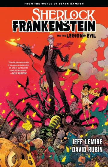 Couverture de l'album SHERLOCK FRANKENSTEIN AND THE LEGION OF EVIL Tome #1 Sherlock Frankenstein and the Legion of Evil