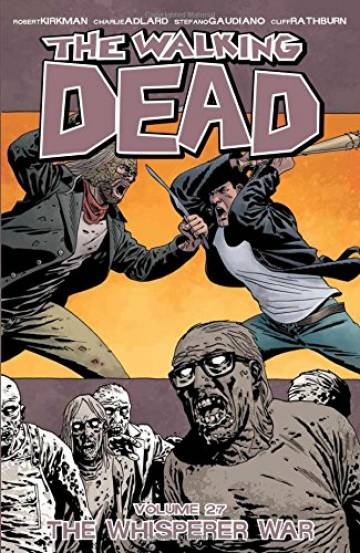 Couverture de l'album VO THE WALKING DEAD Tome #27 The Whisperer War