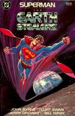 Couverture de l'album SUPERMAN, THE EARTH STEALERS The Earth Stealers