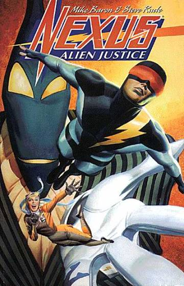 Couverture de l'album NEXUS Alien Justice