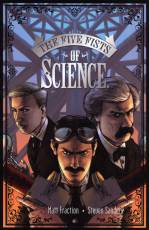 Couverture de l'album FIVE FISTS OF SCIENCE (THE) The five fists of science