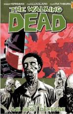 Couverture de l'album VO THE WALKING DEAD Tome #5 The best defense