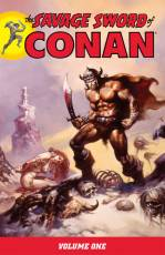 Couverture de l'album SAVAGE SWORD OF CONAN (THE) Tome #1 Volume one