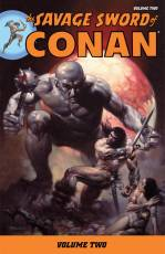 Couverture de l'album SAVAGE SWORD OF CONAN (THE) Tome #2 Volume two