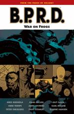 Couverture de l'album B.P.R.D. Tome #12 War on Frogs