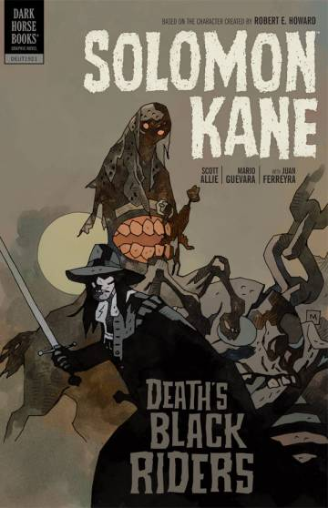 Couverture de l'album SOLOMON KANE Tome #2 Death's Black Riders