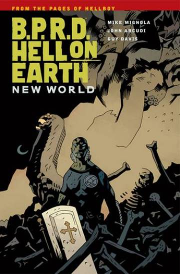 Couverture de l'album B.P.R.D. HELL ON EARTH Tome #1 New World