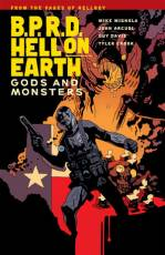 Couverture de l'album B.P.R.D. HELL ON EARTH Tome #2 Gods and monsters