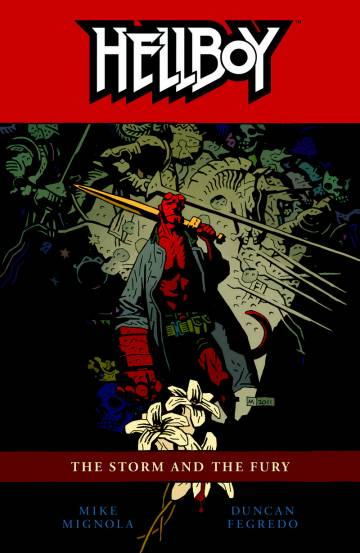 Couverture de l'album HELLBOY Tome #12 The Storm and the Fury