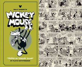 Couverture de l'album WALT DISNEY'S MICKEY MOUSE Tome #2 Trapped on treasure island