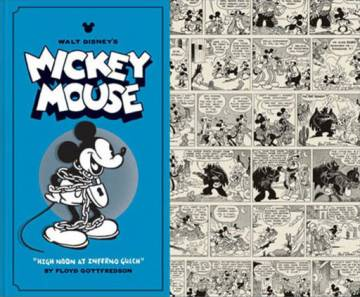 Couverture de l'album WALT DISNEY'S MICKEY MOUSE Tome #3 High Noon at Inferno Gulch