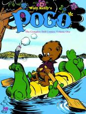 Couverture de l'album WALT KELLY'S POGO, THE COMPLETE DELL COMICS Tome #1 Volume one