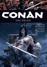 Couverture de l'album CONAN (VO) Tome #14 The death