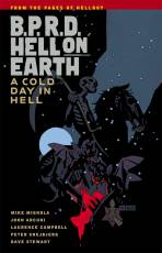 Couverture de l'album B.P.R.D. HELL ON EARTH Tome #7 A cold day in hell
